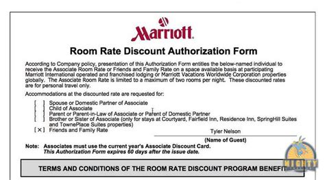marriott receipt template marriott friends and family rate is it worth