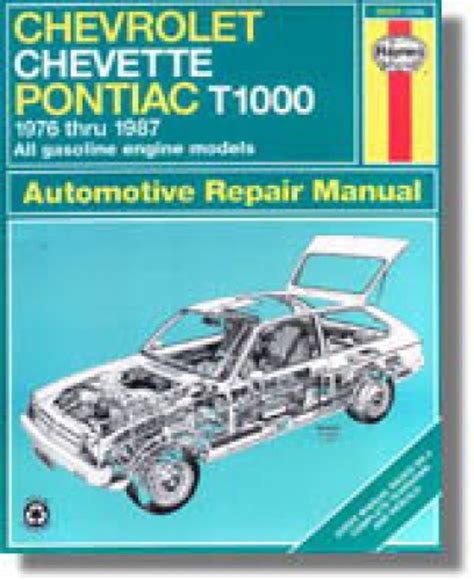 service manual online auto repair manual 1987 pontiac chevette on board diagnostic system