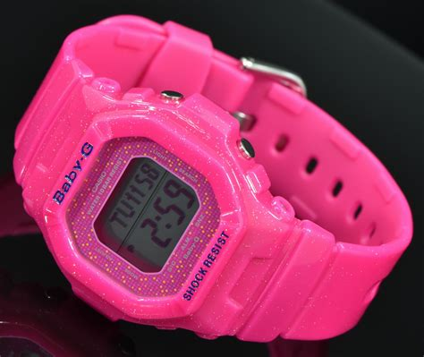 baby g casio gls 5600 pink live photos baby g flamboyant pink bg 5600gl 4