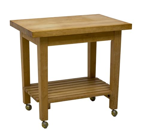 contemporary butcher block kitchen work table the