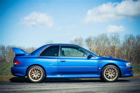 impreza subaru this super rare subaru impreza 22b sti is for sale biser3a