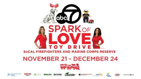 The Spark And The Drive abc7 firefighters spark of drive fund