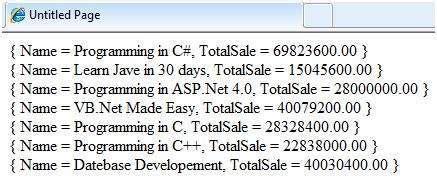 tutorialspoint linq asp net linq