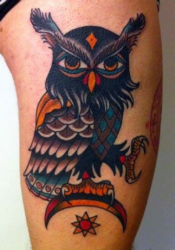 american traditional owl tattoo 50 best owl designs and ideas
