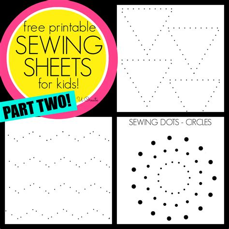 printable paper sewing practice sheets sewing sheets for kids part two u create