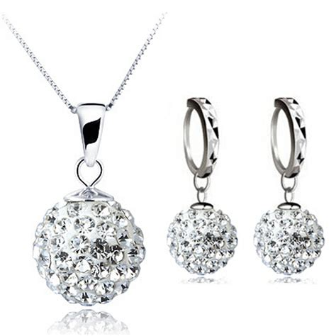 silver for jewelry 100 silver 925 sterling silver jewelry sets fashion white