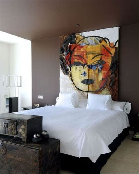 art as headboard 100 inexpensive and insanely smart diy headboard ideas for