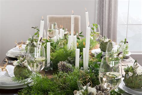 winter table home decor winter table setting inspiration with