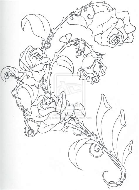 climbing rose tattoo climbing roses drawing
