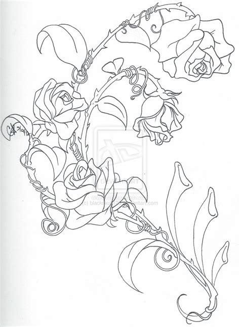 climbing rose tattoo climbing roses by blackskull123 on deviantart