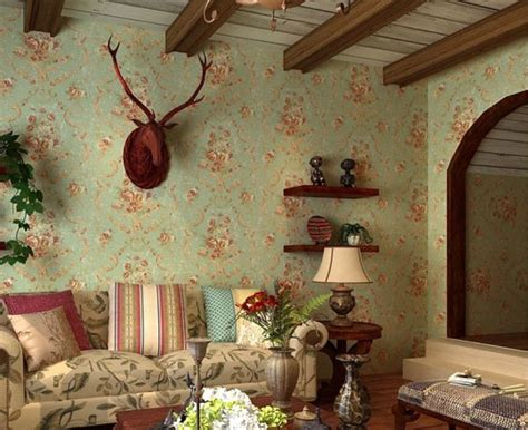 new home decoration america with green wallpaper american home decor sofa wall in country style wallpaper