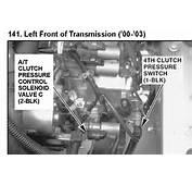Honda TLp1740 Trouble Codepressure Switch Circuit