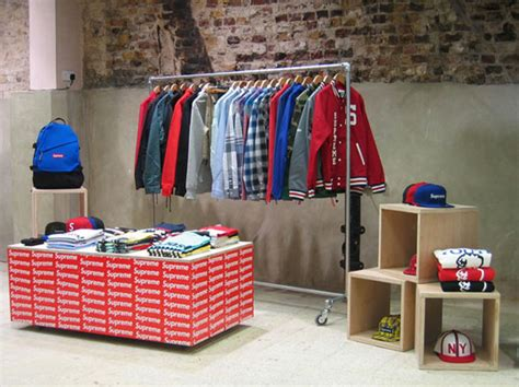 supreme clothing store supreme space at dover market a look