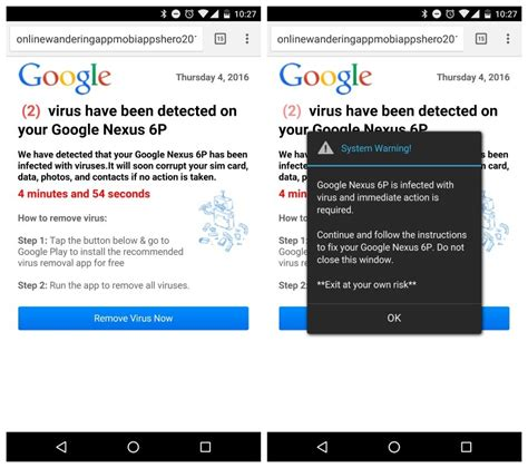 virus removal for android s safe browsing to defeat deceptive buttons and ads