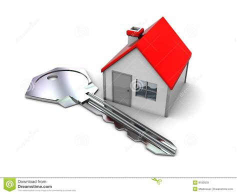 home and key stock illustration image of real bunch