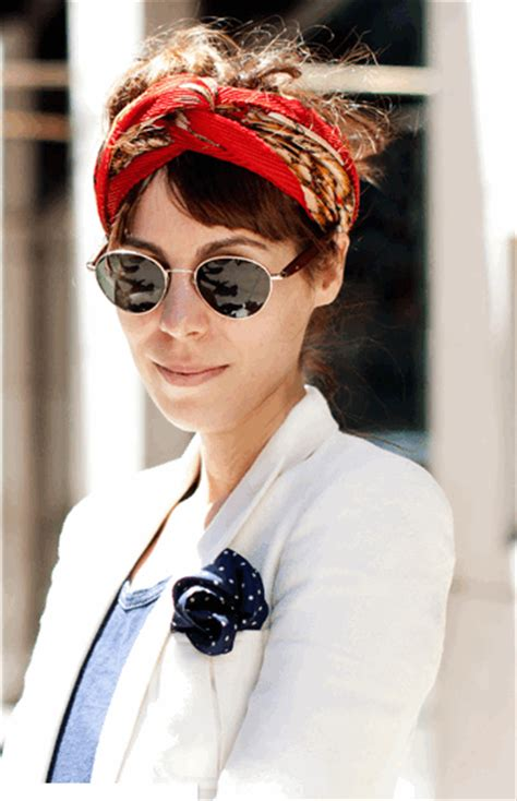 street style hair scarves trends to live by summer trend alert silk head scarves