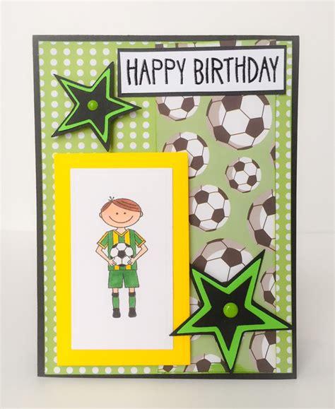 Handmade Boys Birthday Cards - handmade birthday card boys birthday card soccer card