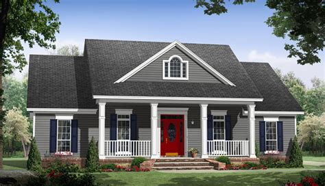home plans and more greenridge acadian ranch home plan 077d 0244 house plans