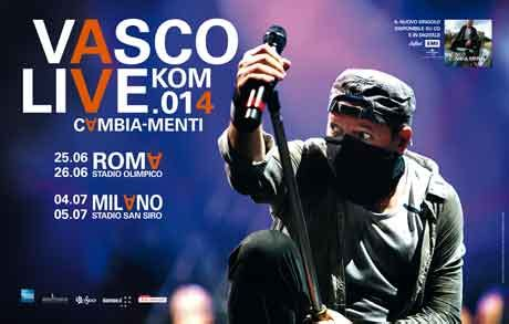 vasco canzoni 2014 concerti vasco 2014 biglietti date e info tour