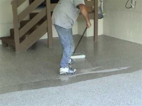 Garage Floor Epoxy Finish, video 3 of 3   YouTube
