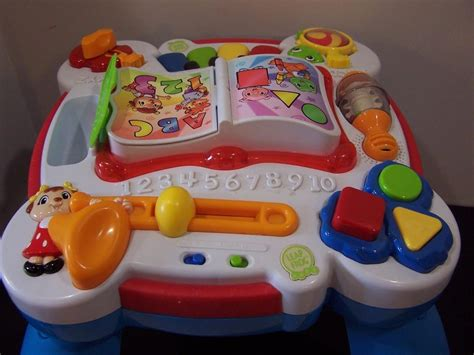 Leapfrog Learn And Groove Musical Table by Leapfrog Learn Groove Musical Activity Table