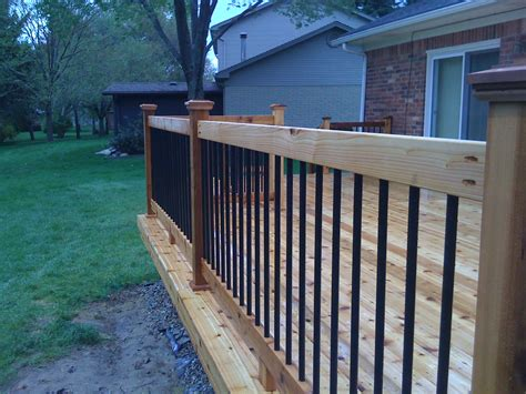 decking banister mi deck railings autumnwoodconstruction s blog