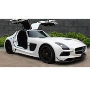 Barely Driven Mercedes Benz SLS AMG Black Series Makes For