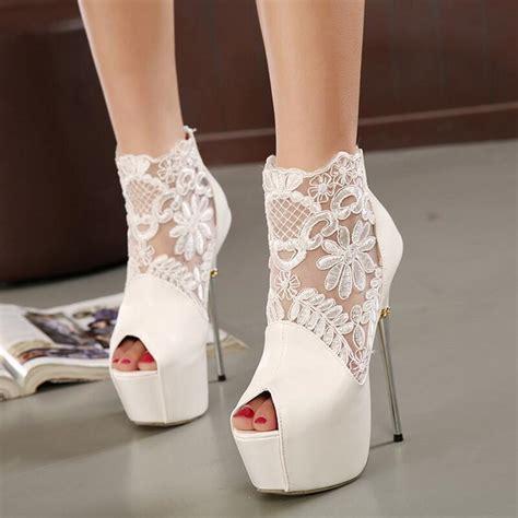 2016 new s pumps lace white pumps shoes