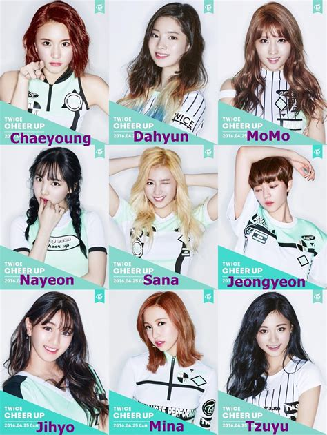 6 awesome k pop duos did your favorite pair make the resultado de imagem para cheer up twice twice cheer up
