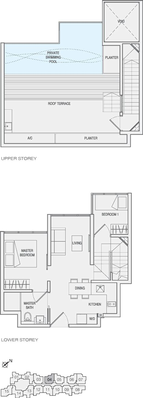 One Shenton Floor Plan by Launches Archives Showflat Floorplan