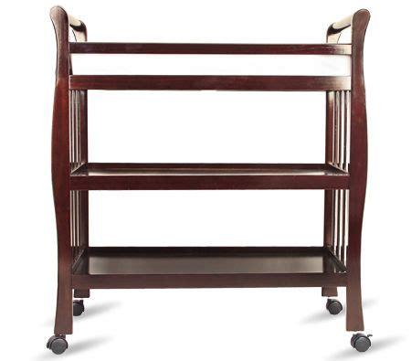 Walnut Changing Table W Changing Pad Online Shopping Changing Pad For Changing Table