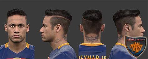 neymar new hair cuttphotos download in pes 2016 neymar jr new hair by habib10 pes patch