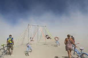 burning man swinging burning man celebrations continue as festival enters final