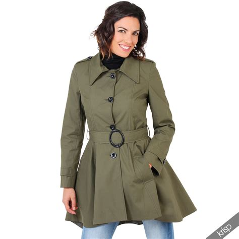 Breasted Belted Coat womens single breasted belted army mac
