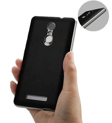 Leather Back Casecover Xiaomi Redmi Note 3 Casing Kulit luxury pu leather back cover for xiaomi redmi note 3
