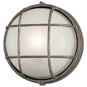 Round Wall Sconce Oceanview Outdoor Round Wall Sconce By Philips Consumer