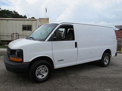 how to work on cars 2003 chevrolet express 2500 on board diagnostic system buy used 2003 chevrolet express 2500 cargo van work van box van commercial low reserve no in