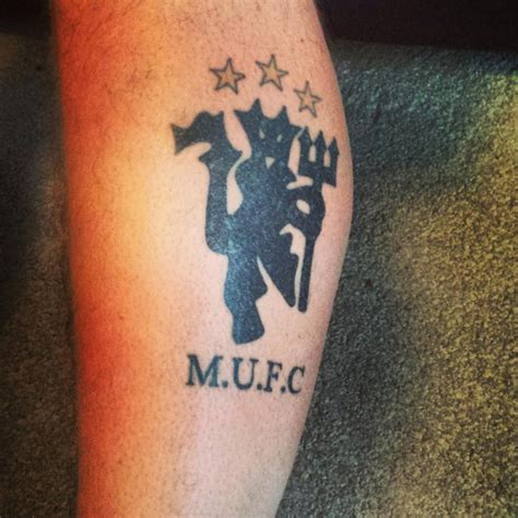 manchester united tattoo 52 best mufc tattoos images on