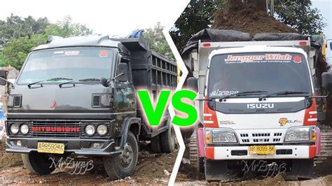 mitsubishi colt diesel umplung dump truck isuzu hd 125ps vs mitsubishi colt diesel