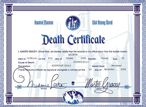 templates for death certificates free clip art death certificate cliparts