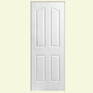 home depot doors interior pre hung masonite textured 4 panel arch top hollow primed