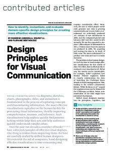 design principles for visual communication design principles for visual communication u c berkeley