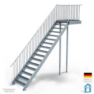 treppe steigung au 223 entreppe stahl mit 16 steigungen in 80 cm stufenweite