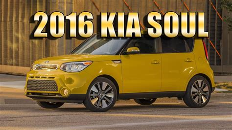 kia soul interior 2016 2016 kia soul usa facelift exterior interior and