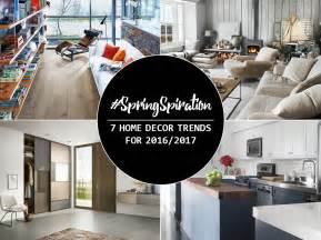 2017 home decor trends springspiration 7 home decor trends for 2016 2017 lansdowne boards