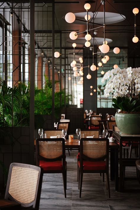 empress a stylish modern restaurant along the
