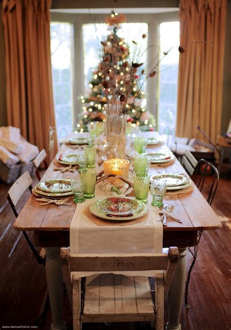 how to set a christmas table holiday table setting damsel in dior