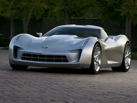 corvette supercar 2009 chevrolet corvette stingray concept supercar