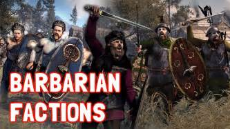 rome 2 total war barbarian total war rome ii choosing between barbarian factions
