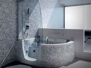 Corner Bath And Shower Walk In Shower Tub Combo Ideas The Evolution Of Modern